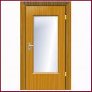 דלת מעוצבת למשרד