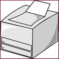 מדפסות A4 שחור