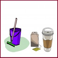 מוצרי קפה וניקיון