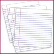 דפדפות ובלוקים לכתיבה