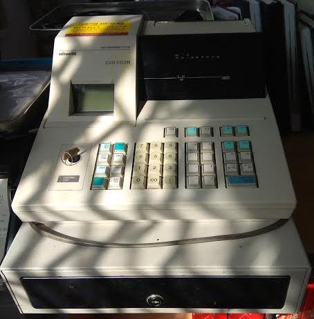 מדהים קופה רושמת OLIVETTY ERC003 יד 2 - פיפו פייפר GI-29